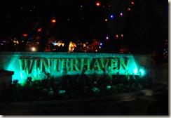 winterhaven sign