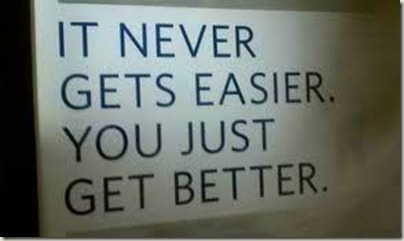 you get better