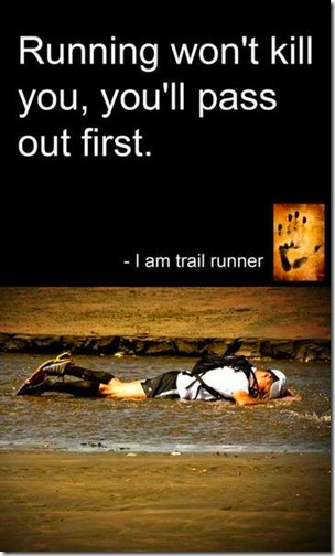 running wont kill you